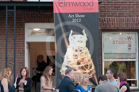 Elmwood Art Exhibition at Ottawa photo studio