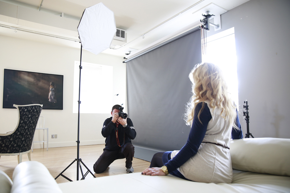 studio photo course - Ottawa