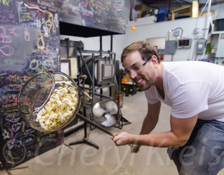 Ottawa photo class - Glass Blowing