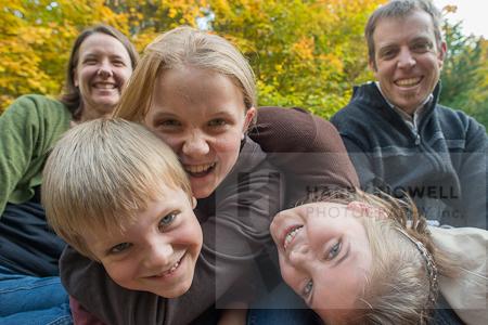 Candid family portrait - Ottawa Gatineau