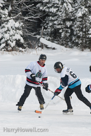 Chelsea Pond Hockey Tournament