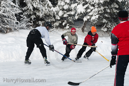 Chelsea Pond Hockey Tornament