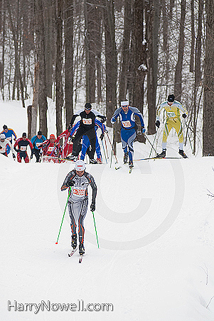 Gatineau Loppet 2010 Lead Pack