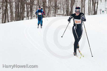 Gatineau Loppet 2010 - home stretch