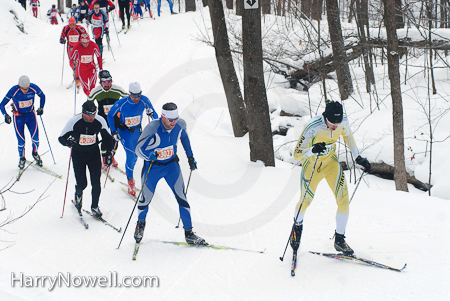 Gatineau Loppet 2010 - lead pack classic race
