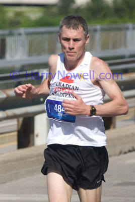 Who is this half marathon champion?