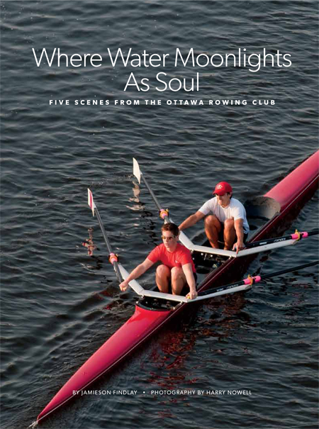 Rowing Photography for Ottawa Magazine