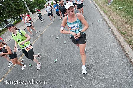 Ottawa Half Marathon Smiles - 2010