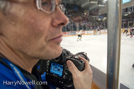 Photographing Pro Hockey - Ottawa Photo Course