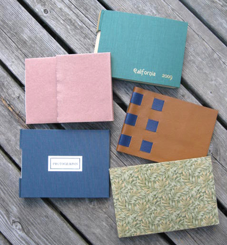 Book Binding for photographers and artists.