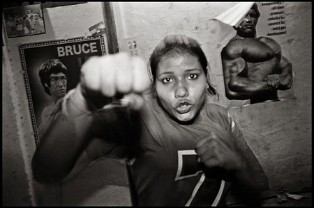 © David Trattles - Art Photography Exhibition - Boxing Ladies