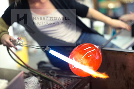 Ottawa photo workshop - glass blowing