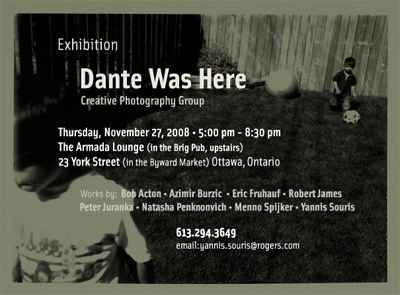Dante was here Exhibition