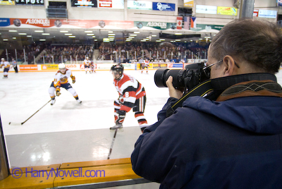 Ottawa 67s hockey photo workshop