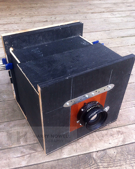 large format home made camera