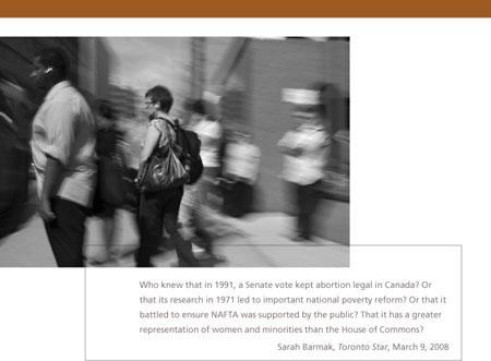 Photo Assignment - Canadian Senate