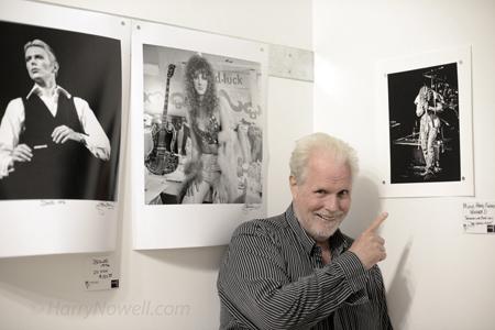 John Rowlands with Photo Contest Winner Jacqueline Barisan's photo