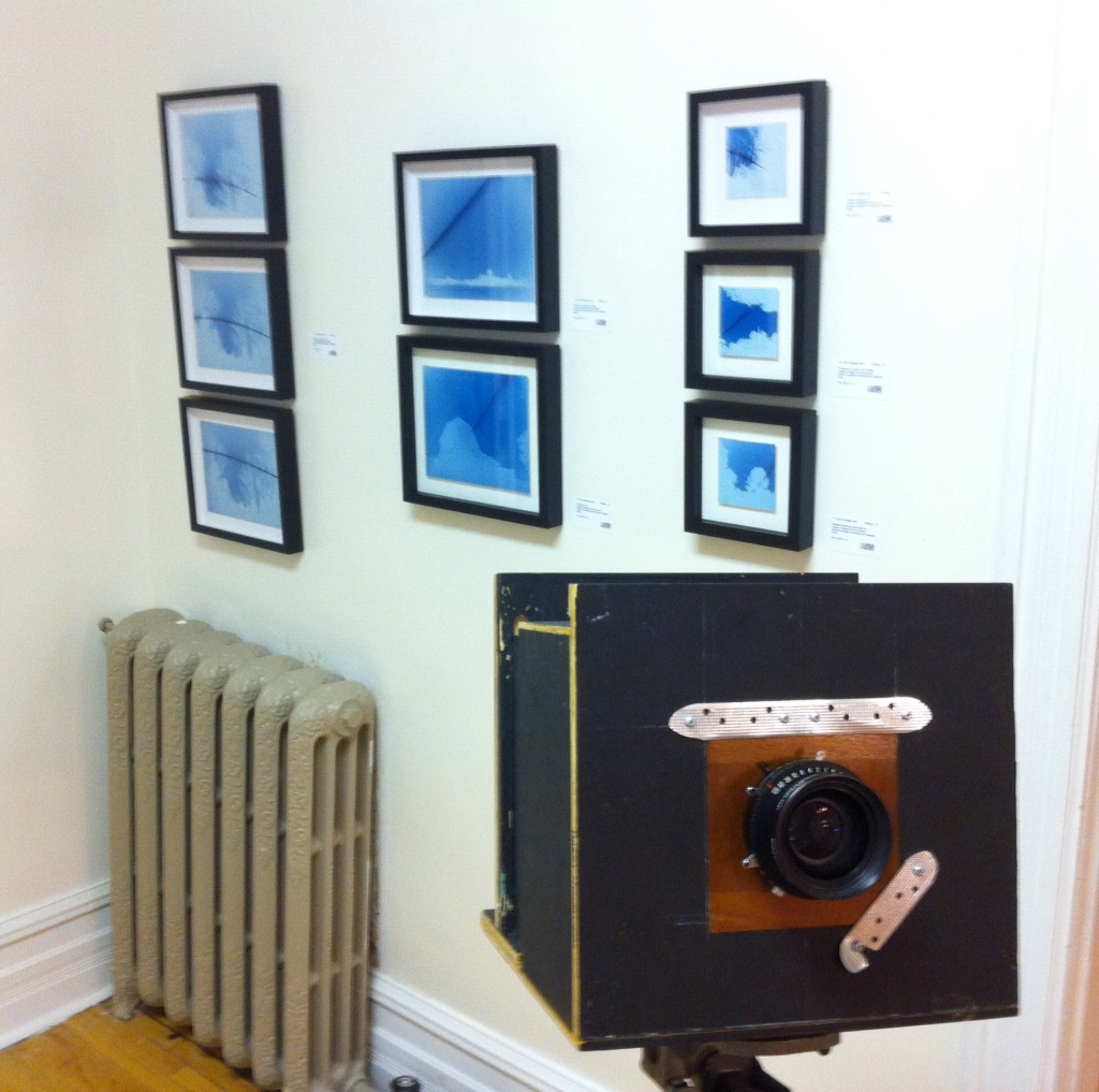 hand made large format camera
