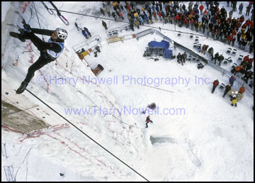 World Cup Ice Climbing