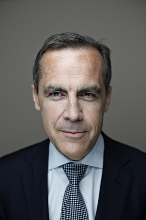 Bank of Canada Governor Mark Carney by Blair Gable for Maclean's Magazine