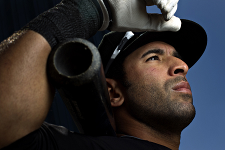 jose Bautista - Blue Jays spring training - photo by Blair Gable for MacLean's Magazine