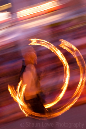 Fire-Breathing, Unicycle-Riding, Flaming Juggler Photo Safari!